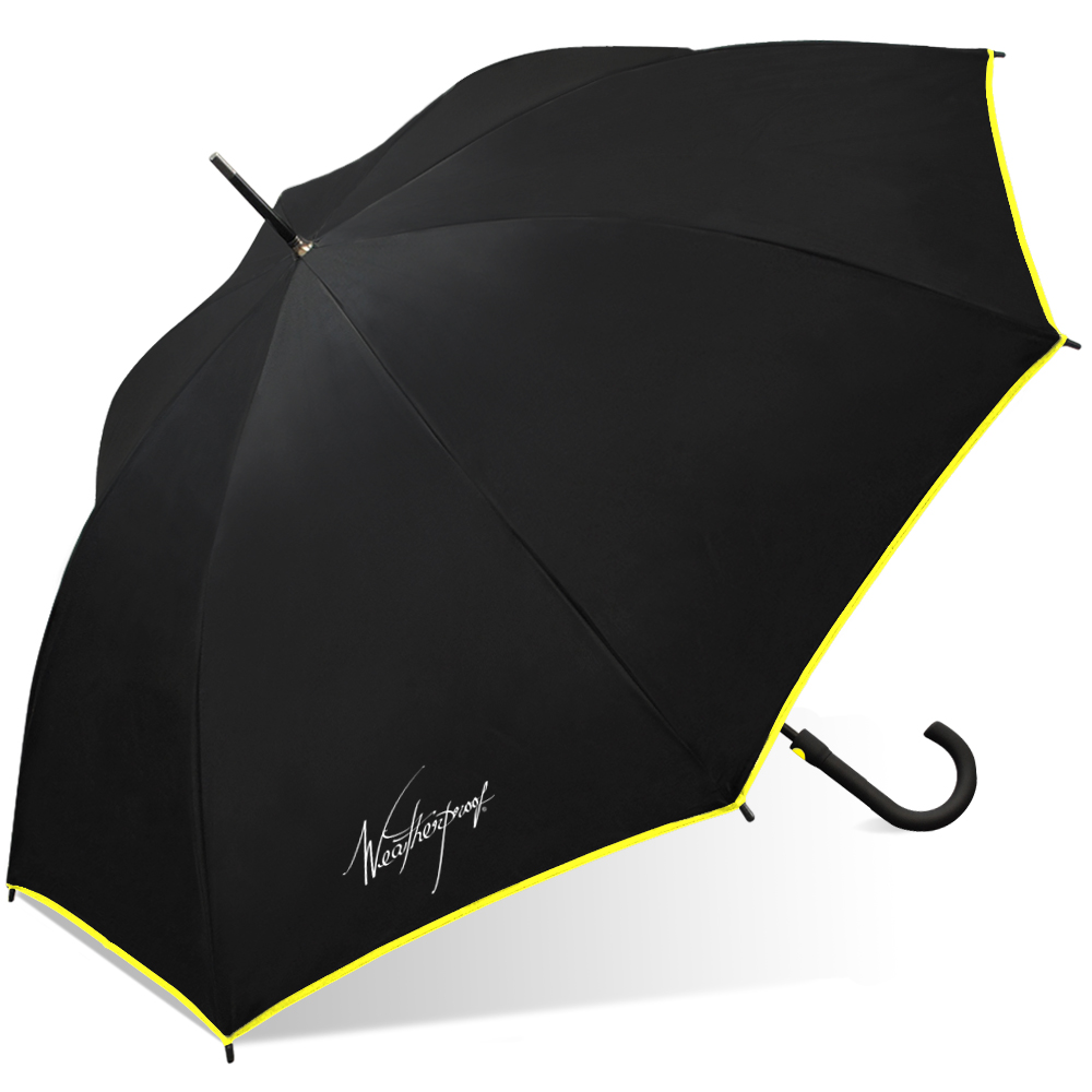 Weatherproof Fiberglass Fashion Stick Umbrella