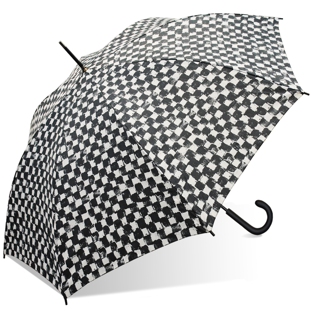 Nicole Miller Auto Fashion Stick Umbrella