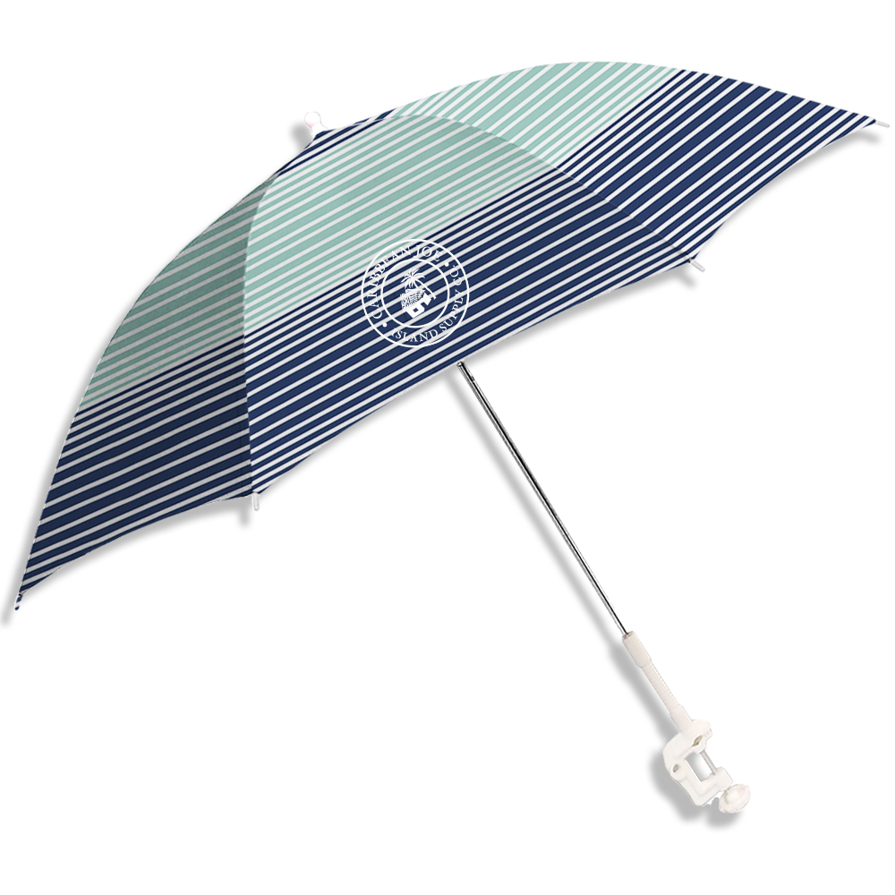 Caribbean Joe Clamp-On Beach Umbrella