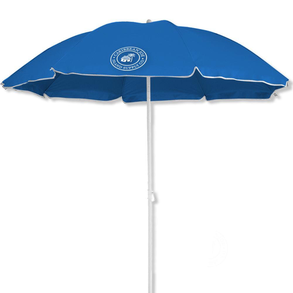 Caribbean Joe 6 Ft Beach Umbrella With UV
