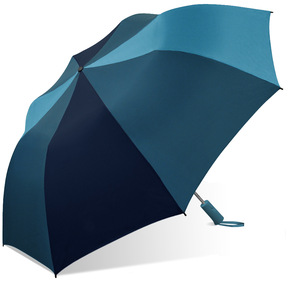 Weather Station Auto Folding Two-Person Umbrella