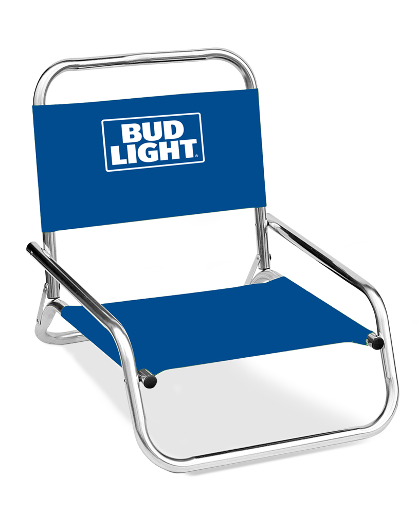 Anheuser Busch One Position Folding Chair