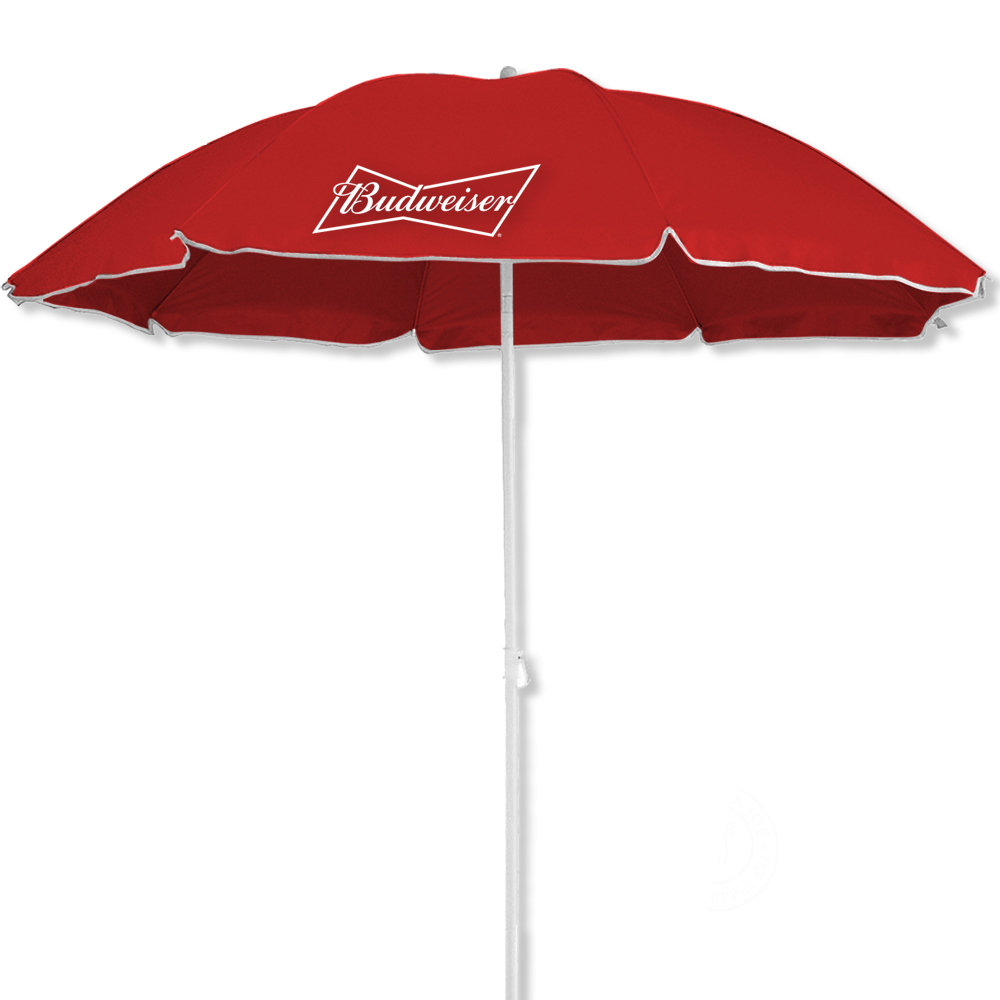 Anheuser Busch 6 Ft Beach Umbrella With UV