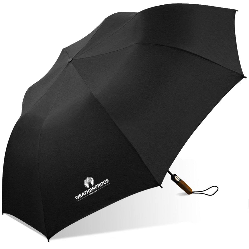 Weatherproof Auto Folding Golf Umbrella
