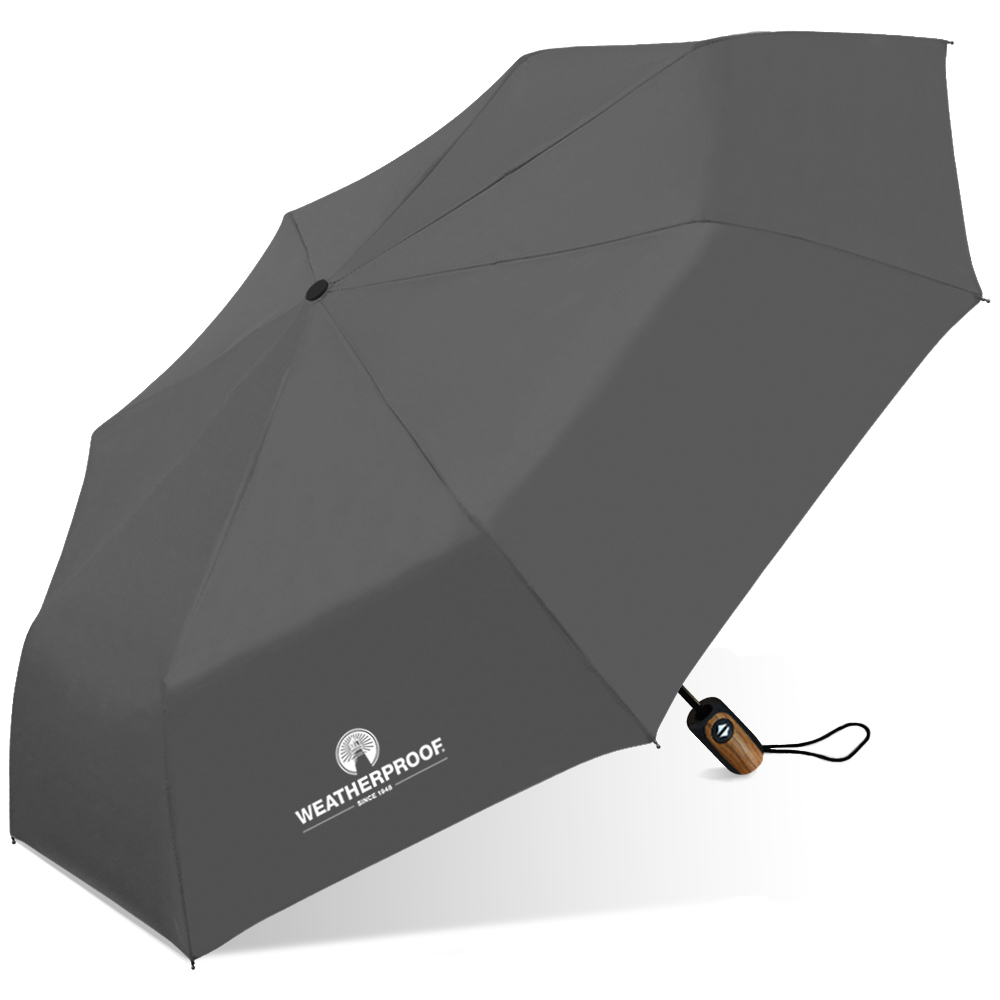 Weatherproof Deluxe Auto Open/Close Umbrella