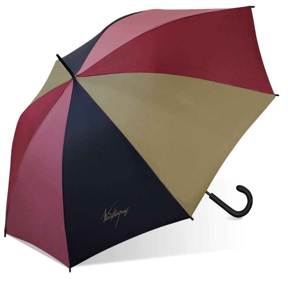Weatherproof Auto Fashion Stick Umbrella